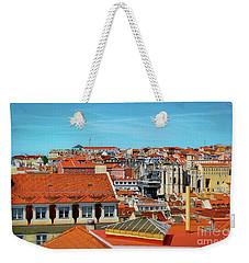 Colorful Rooftops Of Lisbon Weekender Tote Bag