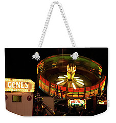 Colorful Round Up Wheel Weekender Tote Bag