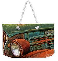 Colorful Rust Weekender Tote Bag