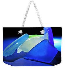 Colorful Sea Glass Weekender Tote Bag