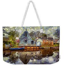 Colorful Serenity Weekender Tote Bag