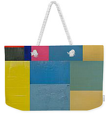 Colorful Skinny Collage 2.0 Weekender Tote Bag