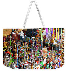 Colorful Space Weekender Tote Bag