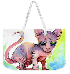 Colorful Sphynx Weekender Tote Bag