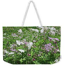 Colorful Spring Flowers In Switzerland Meadow Weekender Tote Bag