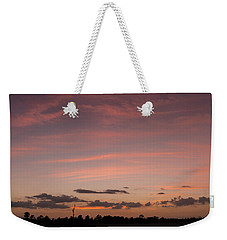 Colorful Sunset Over The Wetlands Weekender Tote Bag