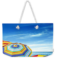Colorful Sunshades Weekender Tote Bag by Carlos Caetano