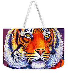 Colorful Tiger Weekender Tote Bag