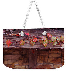 Weekender Tote Bag featuring the photograph Colorful Tree Leaves Changing Color For Auyumn,fall Season In Oc by Jingjits Photography