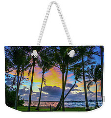 Colorful Tropical Sky Weekender Tote Bag