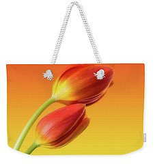 Colorful Tulips Weekender Tote Bag by Wim Lanclus