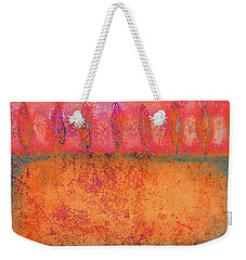 Colorful Tuscan Trees Weekender Tote Bag by Suzanne Powers