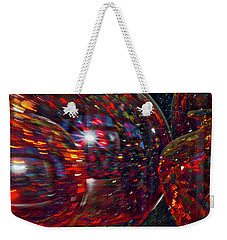 Colorful Vases Abstract Weekender Tote Bag by Stuart Litoff