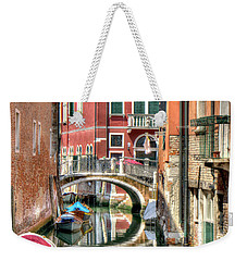 Colorful Venice  Weekender Tote Bag