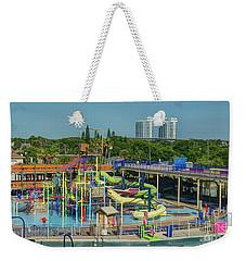 Colorful Water Park Weekender Tote Bag