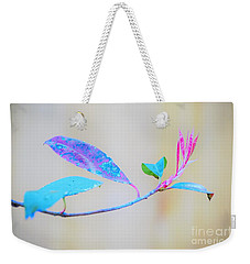 Colorfully Designed Weekender Tote Bag