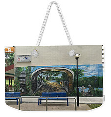 Coloring Holland V Wall 1 - Memories Weekender Tote Bag