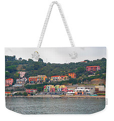 Colors Along The Coast Weekender Tote Bag