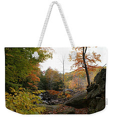 Colors Along The Stream Weekender Tote Bag by Lois Lepisto