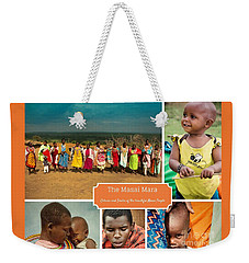 Colors And Smiles Of The Masai Weekender Tote Bag