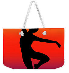 Colors Dance Weekender Tote Bag