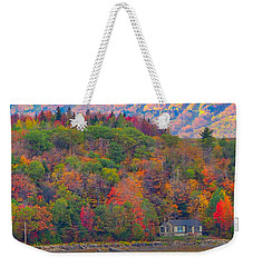 Colors In Canada Weekender Tote Bag