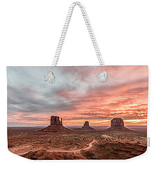 Colors In Monument Weekender Tote Bag