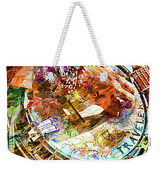 Colors Of A Banjo Busker Weekender Tote Bag