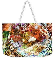 Colors Of A Banjo Busker Weekender Tote Bag