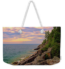 Colors Of Agawa Bay Weekender Tote Bag by Rachel Cohen