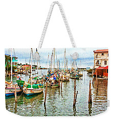 Colors Of Belize - Digital Paint Weekender Tote Bag