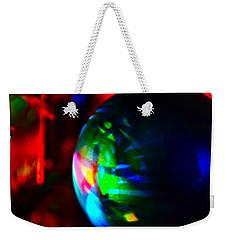 Colors Of Christmas Weekender Tote Bag