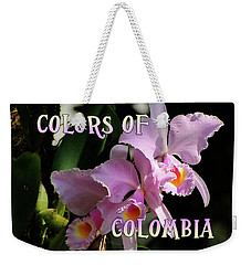 Colors Of Colombia Weekender Tote Bag