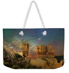 Colors Of Darkness Weekender Tote Bag