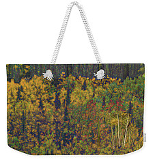 Colors Of Denali Weekender Tote Bag