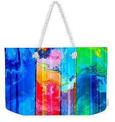 Colors Of Earth Weekender Tote Bag