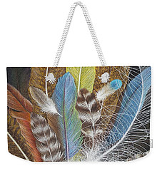 Colors Of Flight Weekender Tote Bag