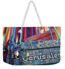 Colors Of Jerusalem Weekender Tote Bag by Yoel Koskas