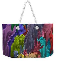 Colors Of Palette Water Colors Weekender Tote Bag