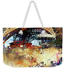 Colors Of Paris In The Summer Weekender Tote Bag