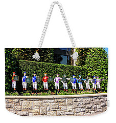 Colors Of Past Stakes At Keeneland Ky Weekender Tote Bag