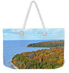 Colors Of Peninsula Weekender Tote Bag by Greta Larson Photography