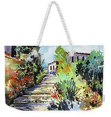 Colors Of Spain Weekender Tote Bag by Rae Andrews