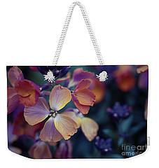 Colors Of Spring Weekender Tote Bag by Eva Lechner