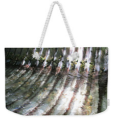 Weekender Tote Bag featuring the photograph Colors Of The Culvert by Marie Neder