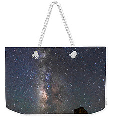 Weekender Tote Bag featuring the photograph Colors Of The Night by Alex Lapidus