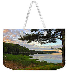 Colors Of The River Weekender Tote Bag