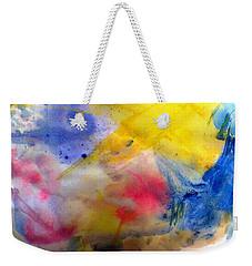 Colors Of The Skies Weekender Tote Bag by Khalid Saeed