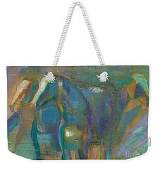 Weekender Tote Bag featuring the painting Colors Of The Southwest by Frances Marino