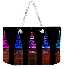 Colors Of The Terminal Tower Weekender Tote Bag